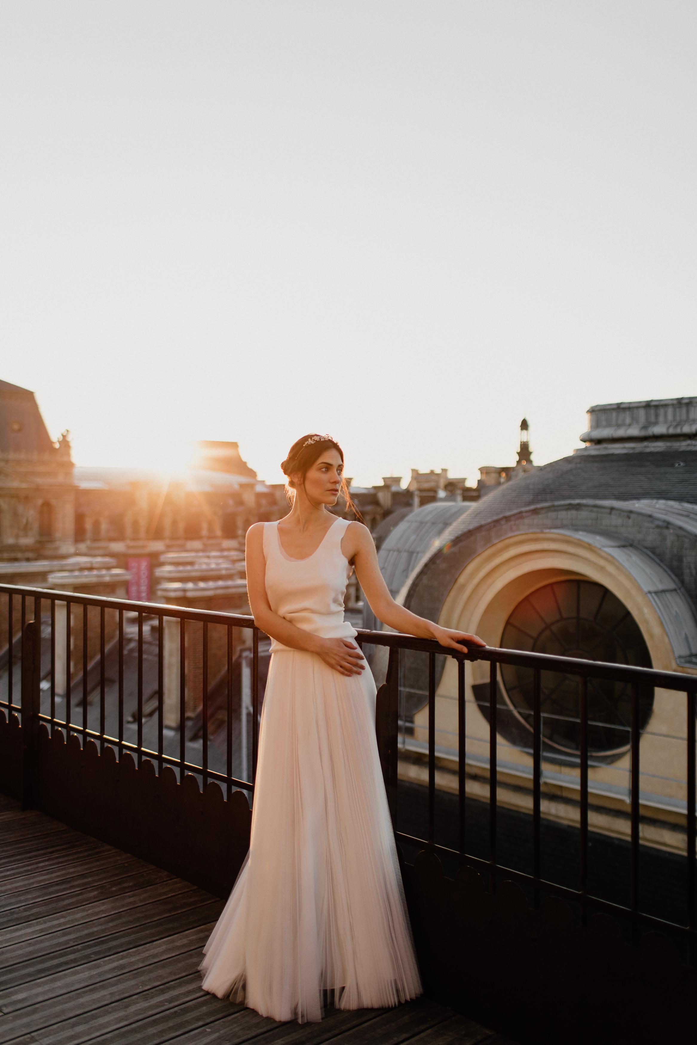 Wedding dresses Bohème Rock for modern brides ! Dress Axel http://www.bohemerock.com/