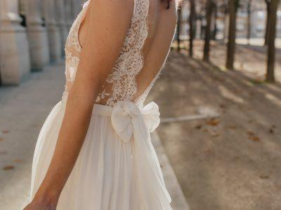 Wedding dresses Bohème Rock for modern brides ! Dress Anais http://www.bohemerock.com/