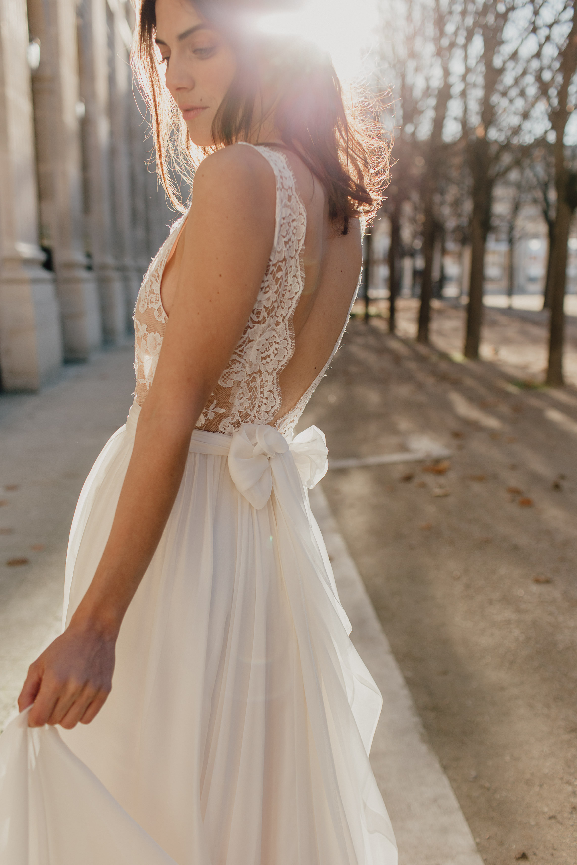 Wedding dresses Bohème Rock for modern brides ! Dress Anais http://www.bohemerock.com/