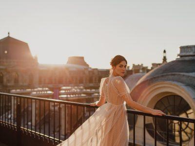 Wedding dresses Bohème Rock for modern brides ! Dress Eugenie http://www.bohemerock.com/