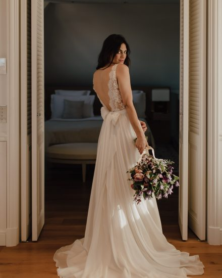 Wedding dresses Bohème Rock for modern brides ! Dress Anais
