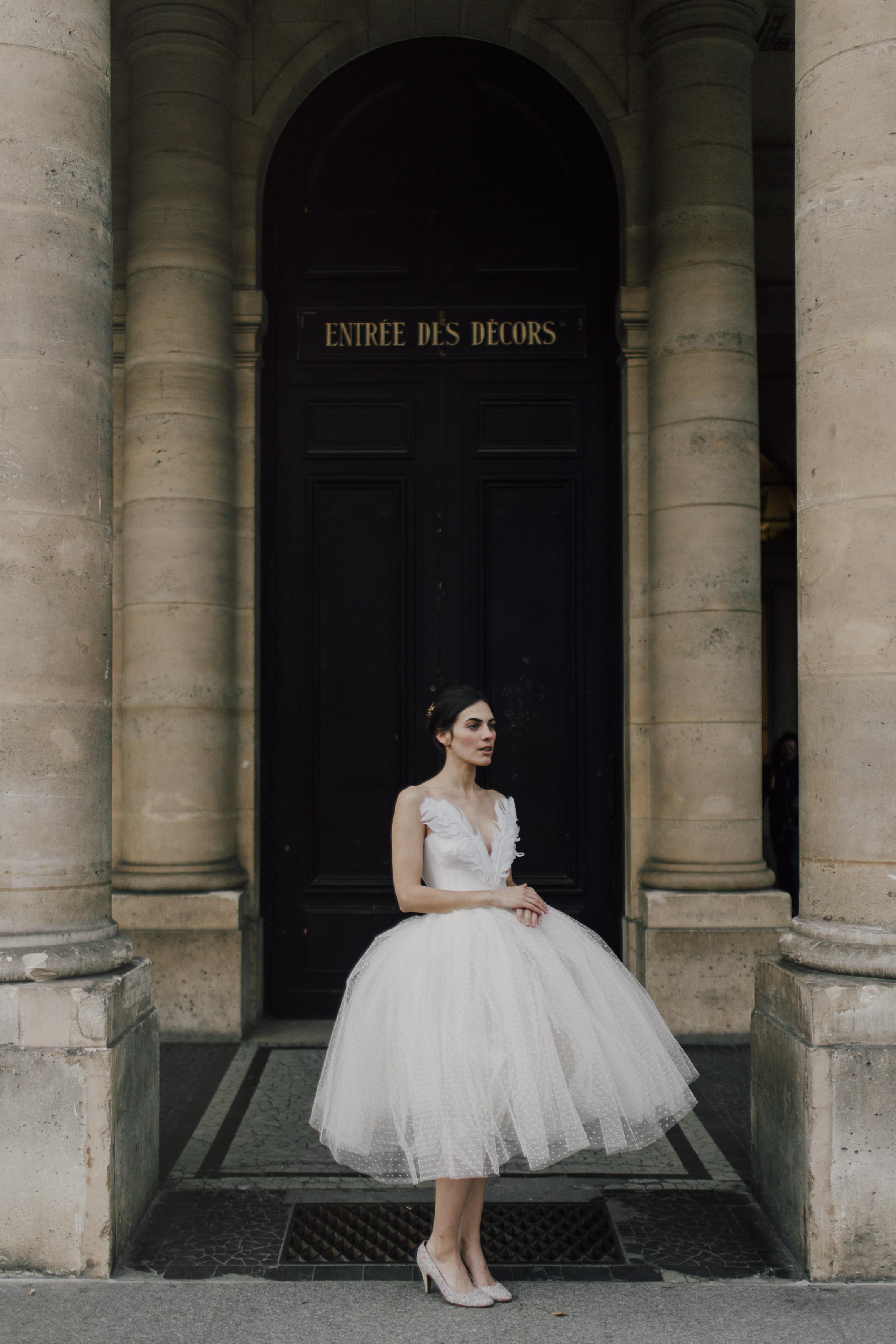 Wedding dresses Bohème Rock for modern brides ! Dress Anastasia www.bohemerock.com