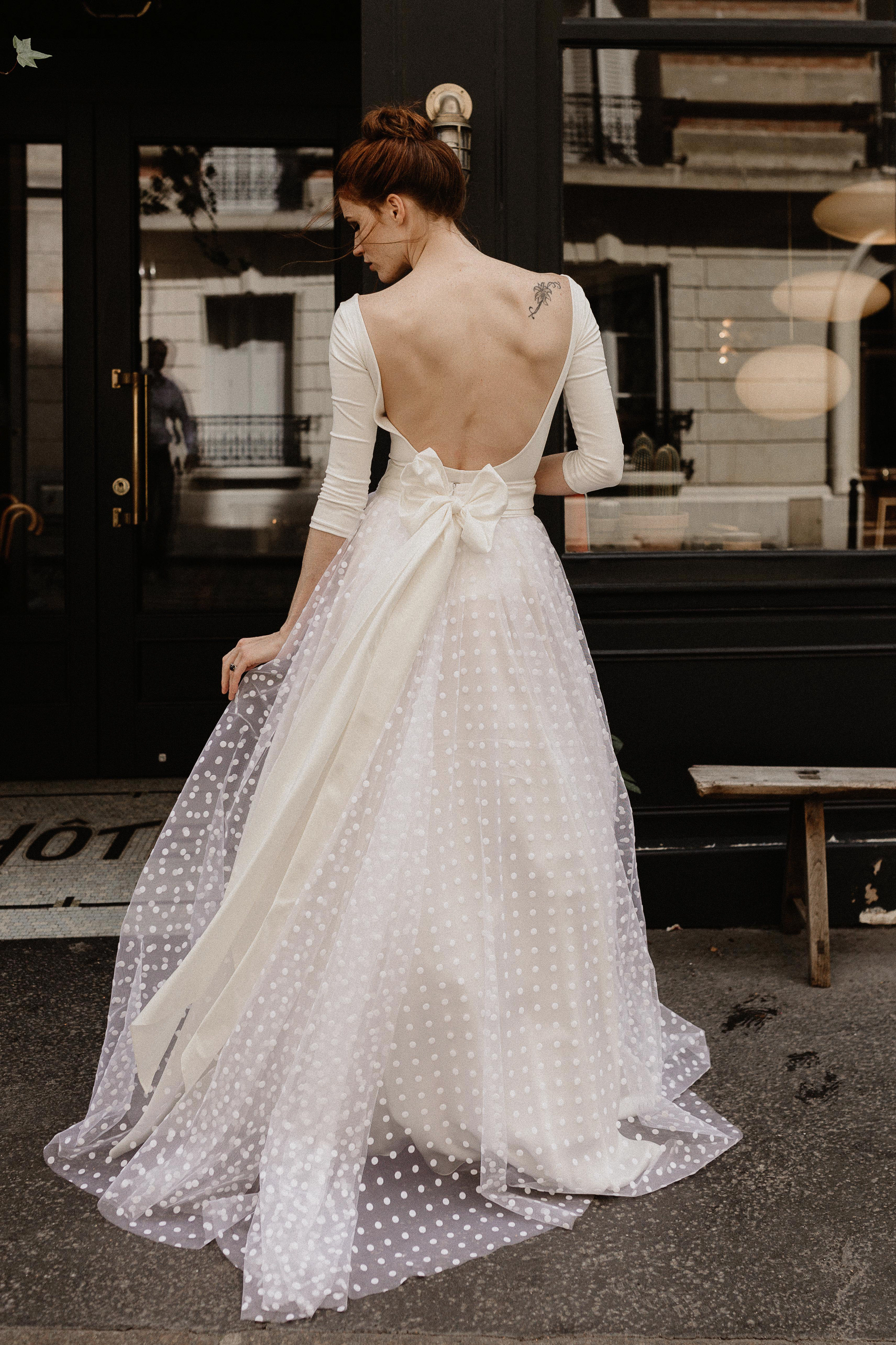 Wedding dresses from Paris by Bohème Rock
