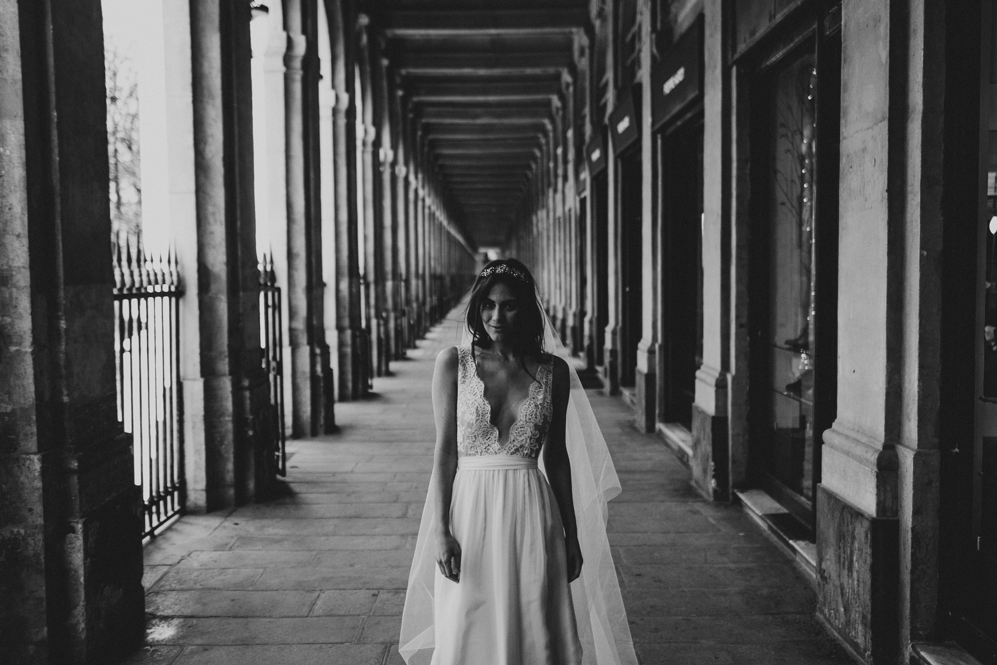 Wedding dresses Bohème Rock for modern brides ! Dress Anaïs